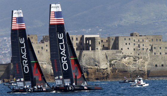 Diario di bordo #3 – America's Cup World Series