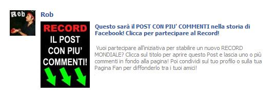 Roberto Esposito - Il post con più commenti del mondo