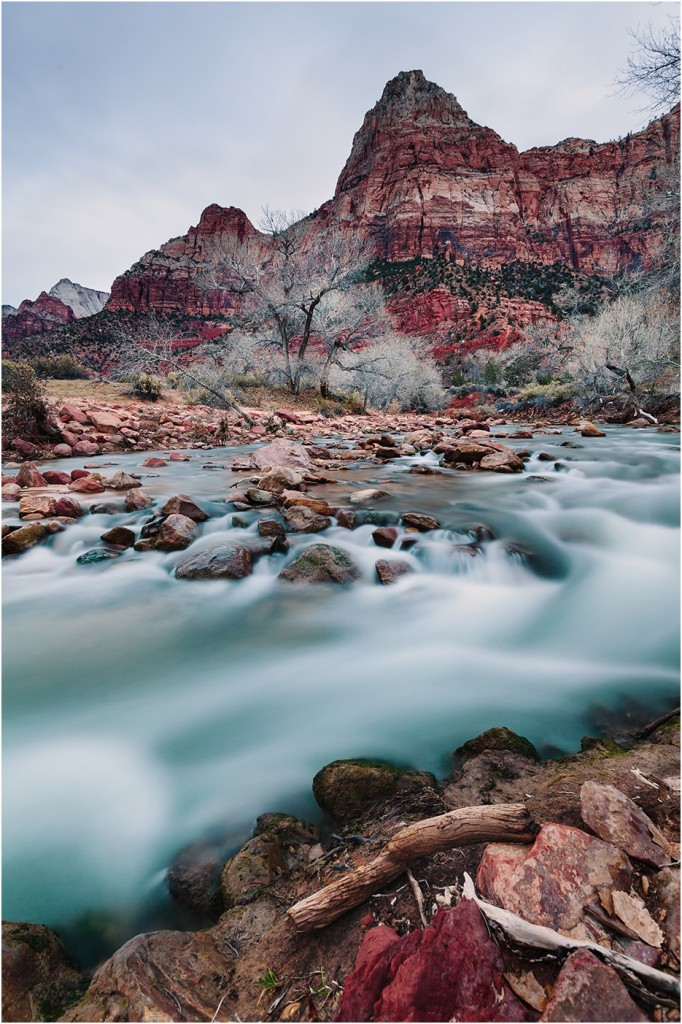 ZION NATIONAL PARK LANDSCAPE PHOTOGRAPHY DECEMBER 2013