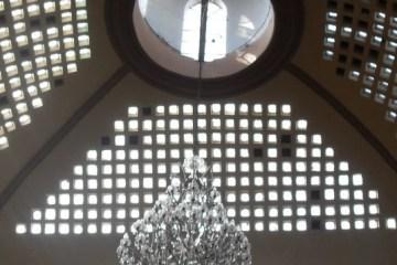 Cristales en candelabro