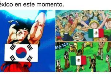 México siendo goleado calfica a octavos de final y los memes no se hicieron esperar