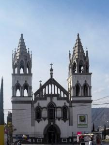 Iglesia del Sagrado Corazón de Jesús en Progreso de Obregón
