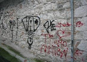 Le città sono meno devastate dai graffiti?