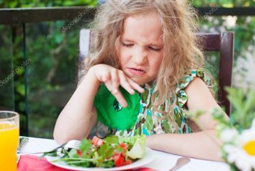 Paura del sapore del cibo