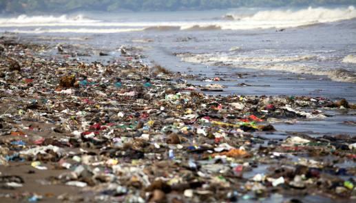 Mari e oceani di plastica come fossero cessi