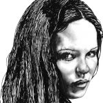 Drawing- Daria's Portrait