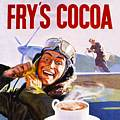 Single Coaster - Frys Cocoa Rich,Robert Opie Collection