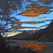 Stikine sunset, sold