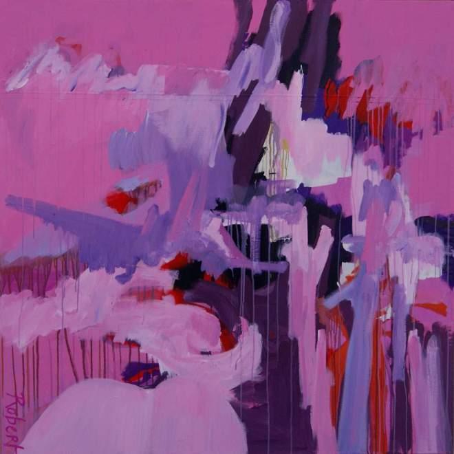 schilderij, robert, pennekamp, robert pennekamp, canvas, kickboksmat, abstract, figuratief, last forever