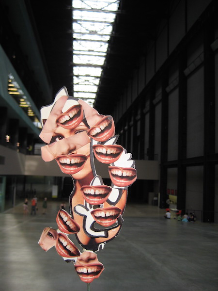 tate modern, collage, site, specific, art, action, streetart, street, art, tate, modern, london, robert pennekamp, site specific art action, intervention