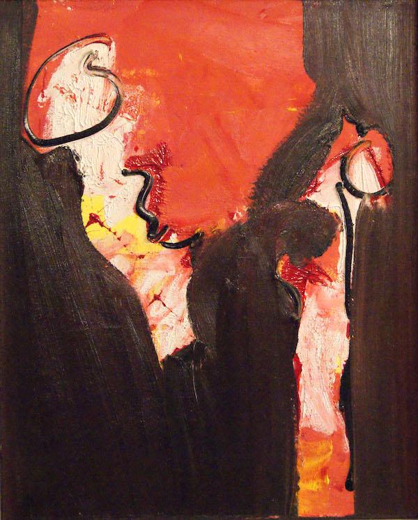 zeg hallo, kleuren, rood, oranje, roze, geel, abstract, figuratief, schilderij, robert, pennekamp, robert pennekamp, lekker, heerlijk, fijn, mooi, aarde