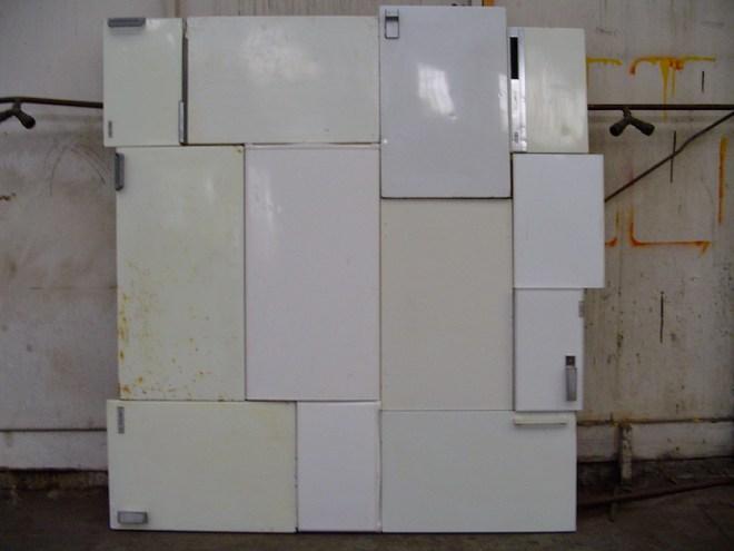 koelkast, deur, koelkastdeur, koelkastdeuren, schilderij, robert, pennekamp, bn, bn-ers, bekende nederlander, bekende nederlanders, robert pennekamp