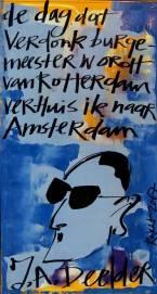 harde uitspraak, jules deelde, dichter, rotterdam, amsterdam, koelkastdeur, harde uitspraak, bekende nederlander, BN-er,