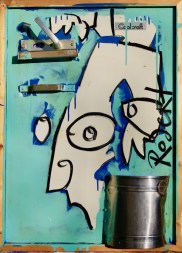 Op weg naar een beter, Kunstbeleid, Harde Uitspraak, koelkastdeur, champagne, handvat, emmer, Robert Pennekamp, Stedelijk Museum, 15 minutes of fame, Andy Warhol