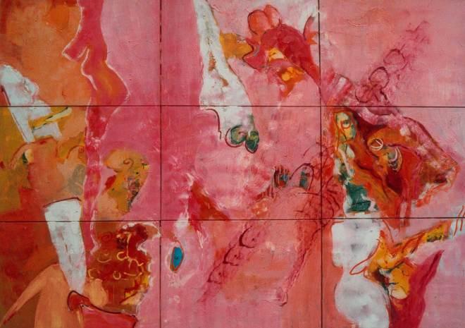 Paradise is Found, Robert Pennekamp, top 10, beste, beter, goed, schilderij, top, best, roze, model, topmodelverzamelaar, galeriehouder, curator, museum directeur, art dealer, kunstverzamelaar, kunst professional, hedgefunds director, kunstenaar
