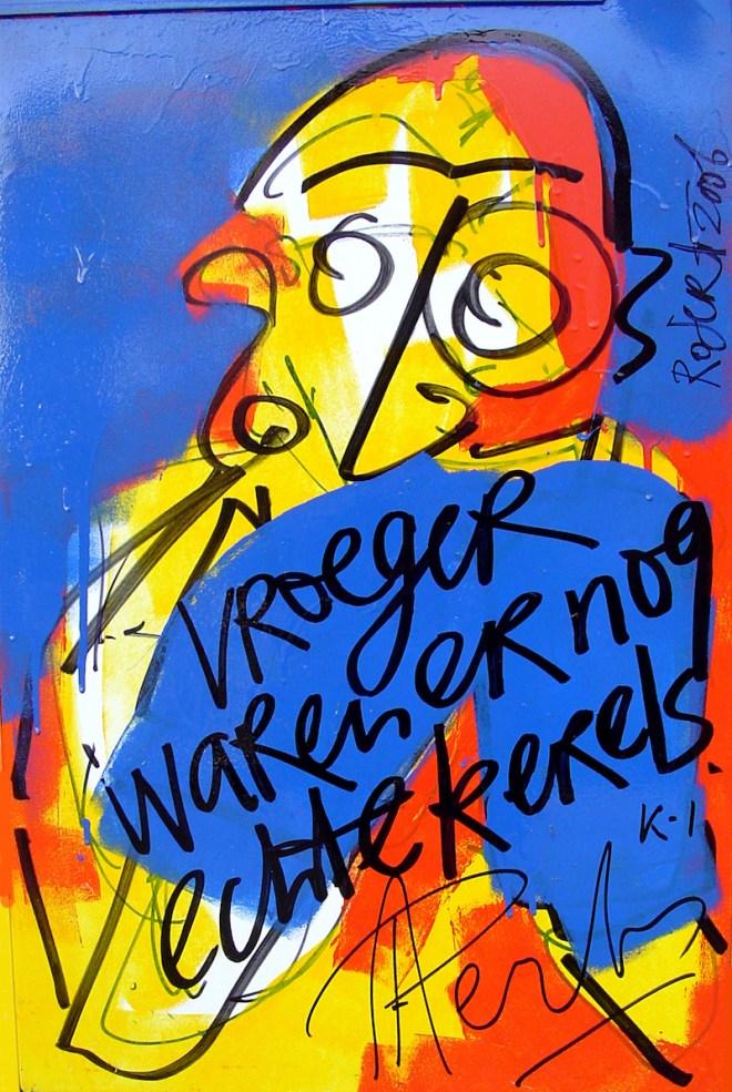 Peter Aerts, kickboksen, kickboxing, k-1, champion, wereld kampioen, kampioen, harde, uitspraken, ingelijste, bekende nederlanders, bn, bn-ers, citaat, citaten, koelkast, koelkastdeur, harde uitspraken, robert pennekamp, kunst, idee, concept, bekend, beroemd, belangrijk, vooraan, beste, top
