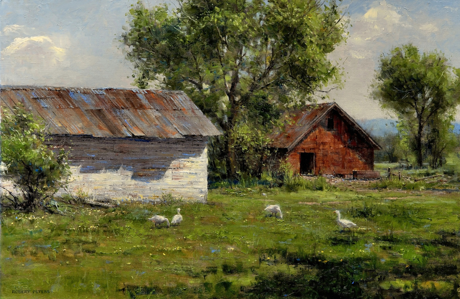 Home Robert Peters Landscape And Still Life Painter Of