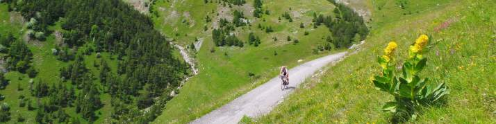 Tour de France 2014 - de beklimmingvan de Fauniera, nota bene in Italië