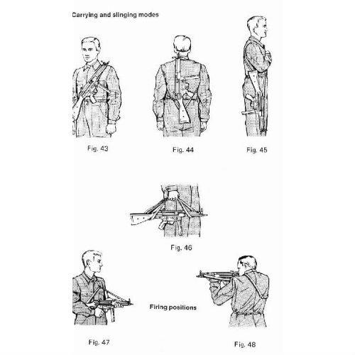 Black 3-PT Sling New for HK91, G3, PTR91, HK93, HK33, MP5