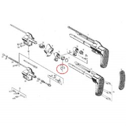 HK A3 Stop Spring for Locking Ring New, G3 HK33 MP5