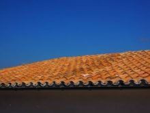 Orange Brown Roof