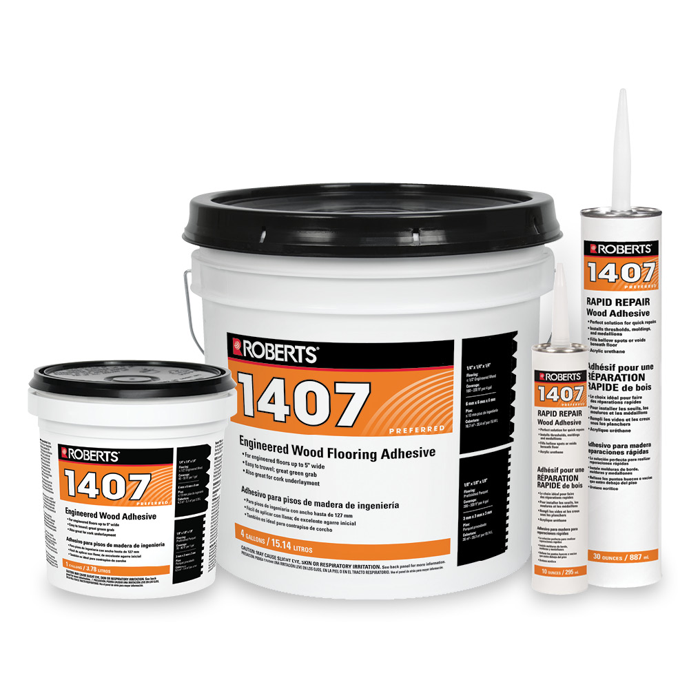 Engineered Wood Flooring Adhesive  Roberts Consolidated