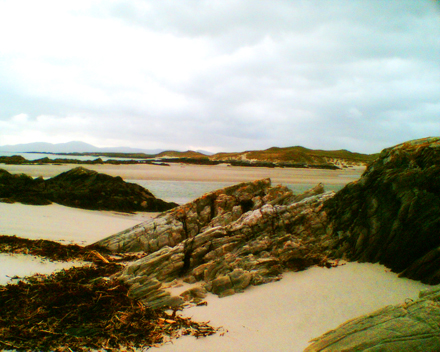 Beach on Colonsay