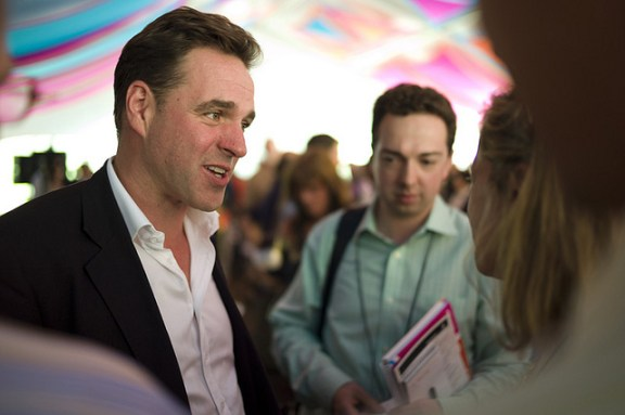 Author Niall Ferguson, who says he has been smeared by Pankaj Mishra. Photo by he Aspen Institute - Creative Commons Licence.