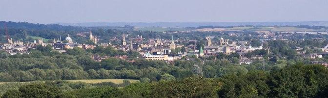 Oxford Skyline by Ed Webster