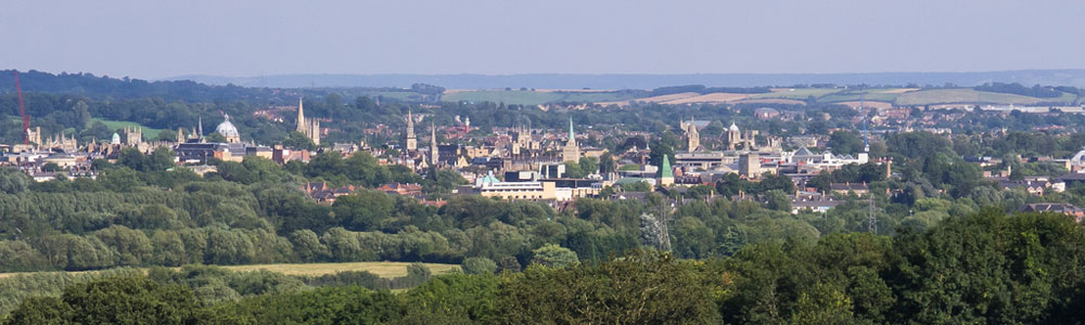 Oxford Skyline by Ed Webster