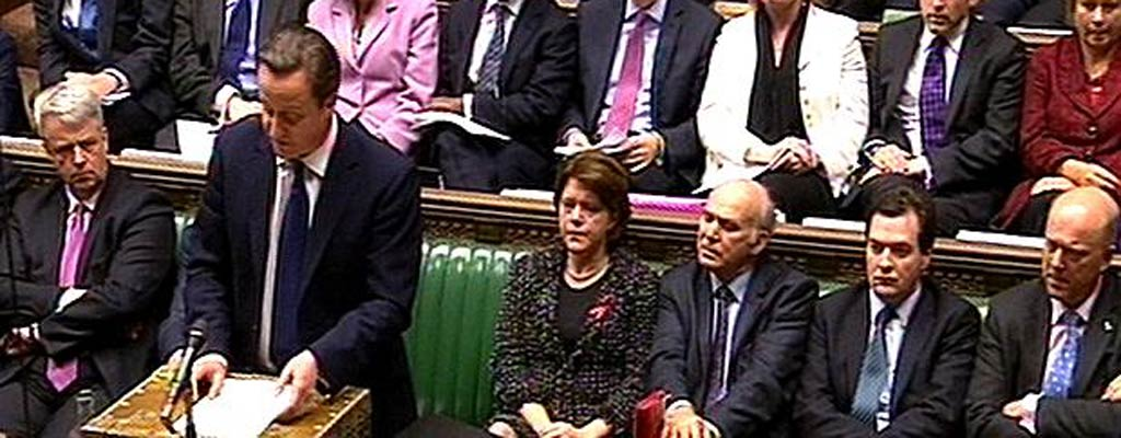 David Cameron makes a statement on the Leveson Report