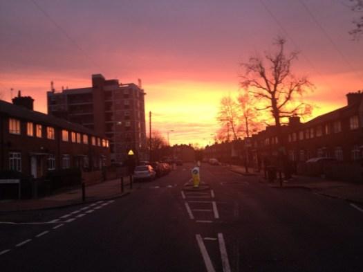 South London Sunrise