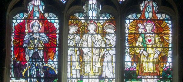 Angel Window by Aidan McRae Thomson