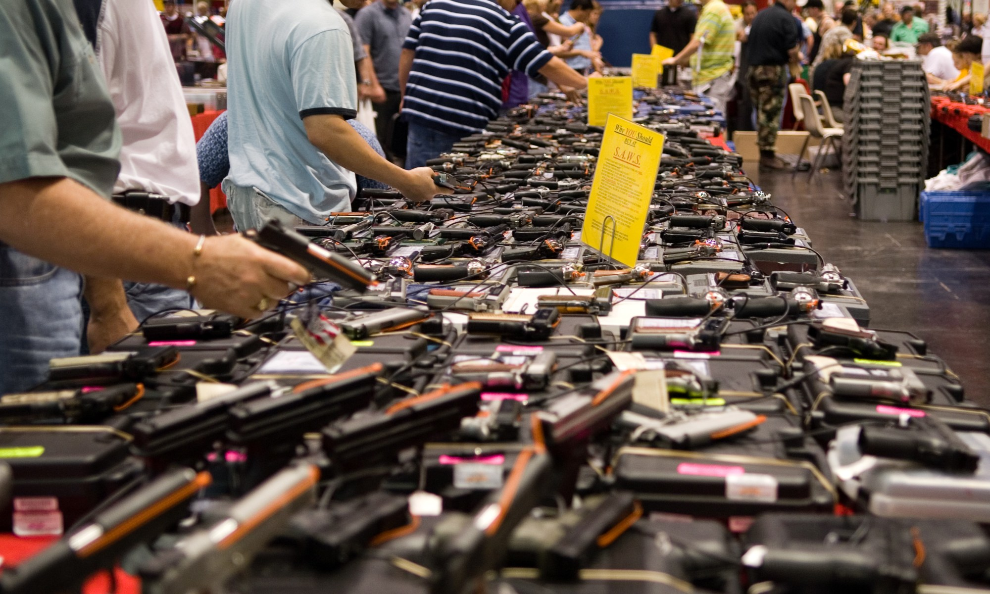 Houston Gun Show at the George R Brown Convention Centre. Creative Commons licenced image