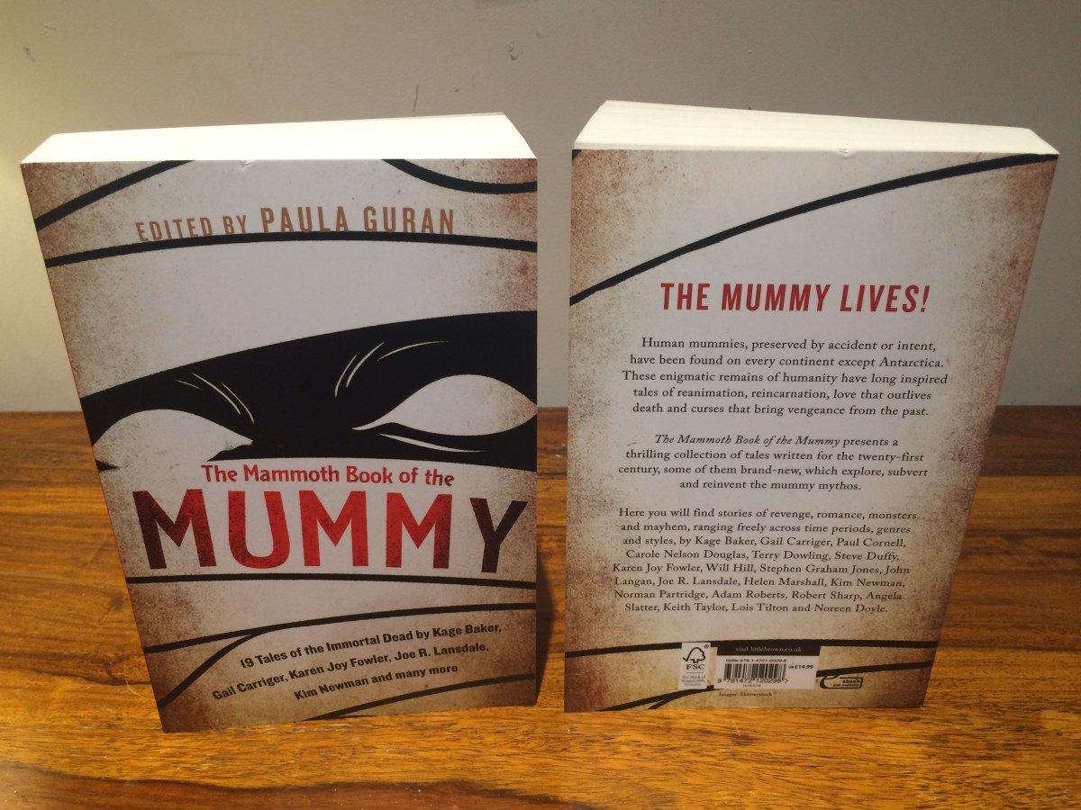The Mammoth Book of the Mummy available in January