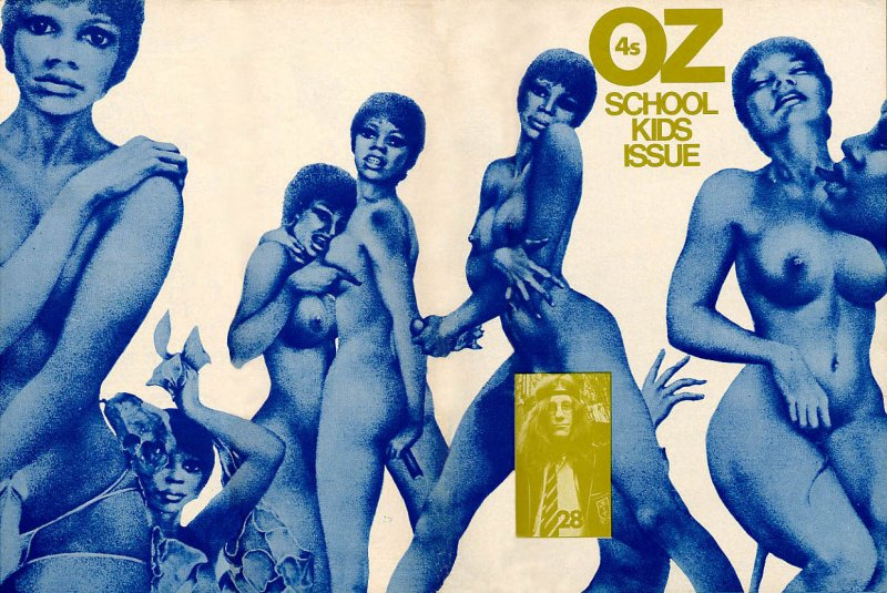 Oz Magazine - The School Kids issue (cover)
