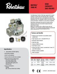 Robert Shaw 24v Gas Valve Wiring Diagram Free Download ...