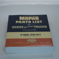 Dodge Truck Parts Diagram Wet Switch Wiring Roberts Motor Partsantique Antique Plymouth Picture Of Manual B Series Trucks 1948 1949 1950 1951 1952 1953