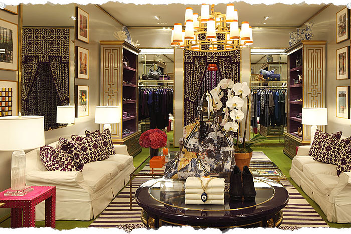 Tory Burch  Robertson Boulevard Shopping Dining  Travel