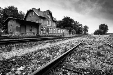 Station Laarwald, Duitsland