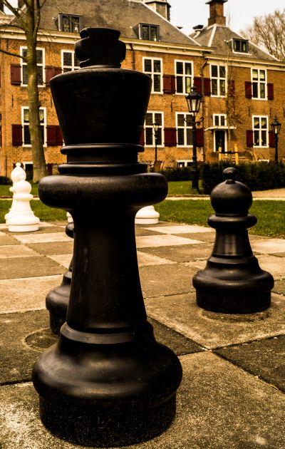 Kasteel de Essenburgh, Hierden, schaakbord