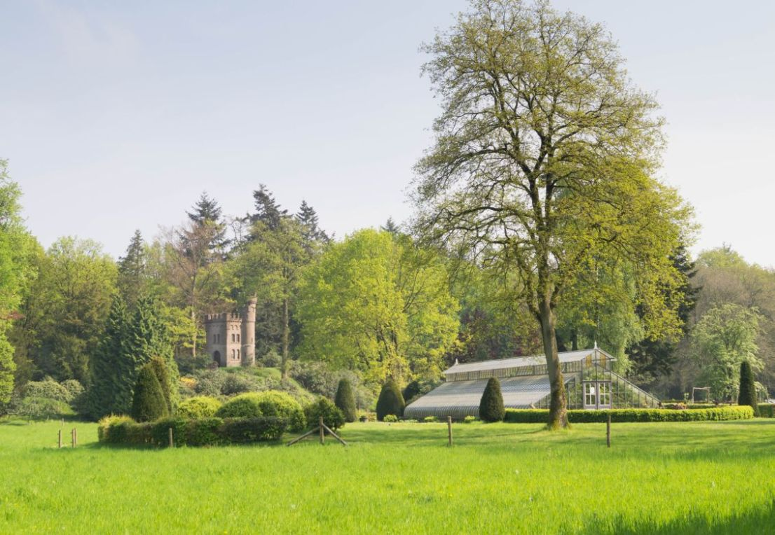 Oud Groevenbeek, Putten, kas en watertoren