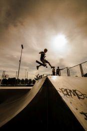 Step op skatebaan, Zeewolde
