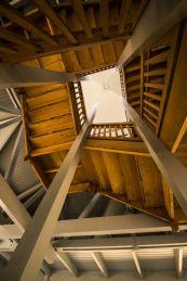 Park vliegbasis Soesterberg, trappenhuis gebouw 25