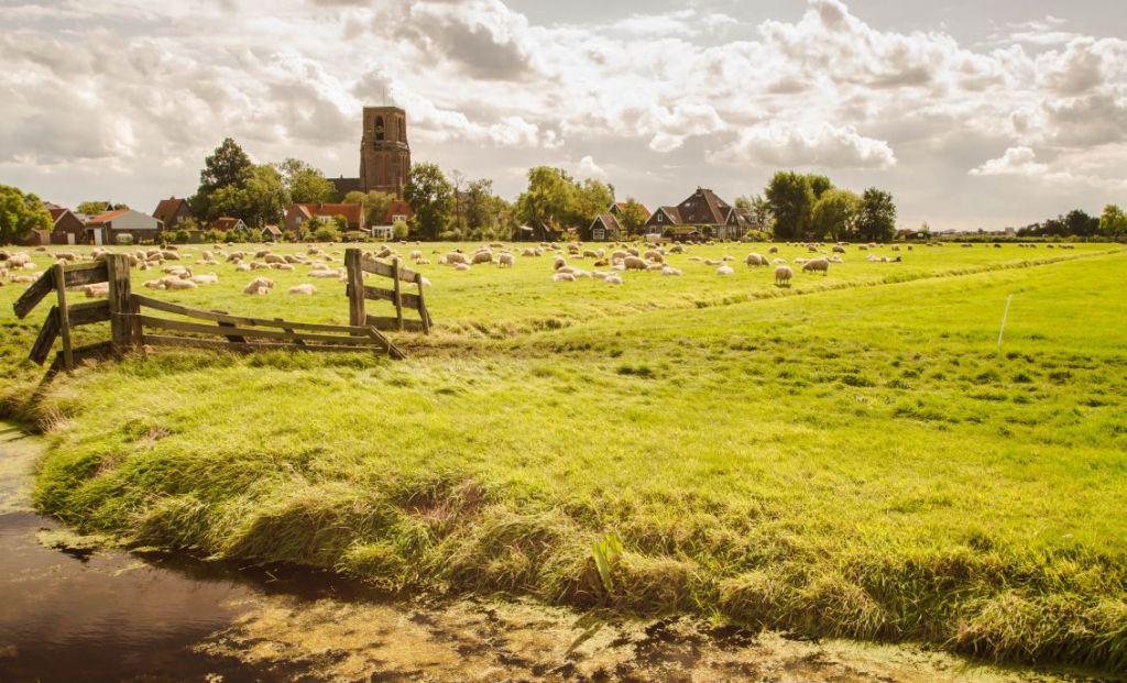Stompe torens: Kerk Ransdorp