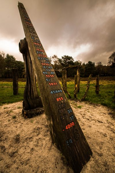 Woodhenge 'De tijd', Putten