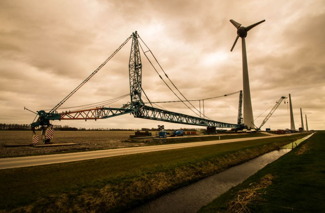Ketelbrug, Windpark Noordoostpolder