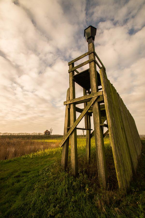 Haven van Schokland, Oud Emmeloord, misthoorngebouwtje