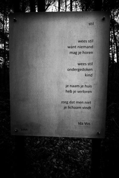 Gedicht Ida Vos, Verscholen Dorp
