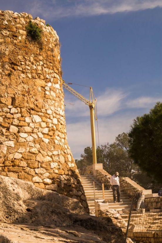 Renovatie kasteel Denia